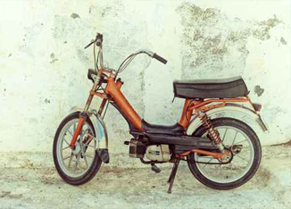 Small Moped